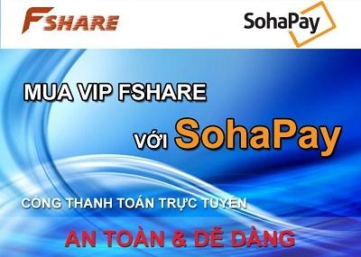 FPT hợp tác cùng SohaPay phát triển thanh toán trực tuyến trên Fshare