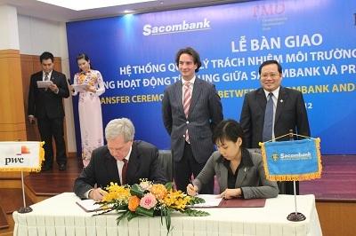 Sacombank áp dụng hệ thống ESMS theo chuẩn mực quốc tế