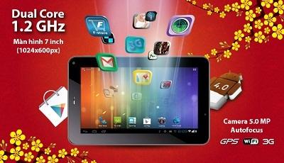 Đón xuân mới cùng FPT Tablet III