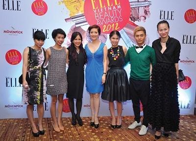 Ngắm dàn mỹ nhân tại Lễ trao giải Elle Beauty Awards