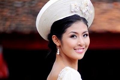 Hoa hậu Việt Nam 2010 Đặng Ngọc Hân