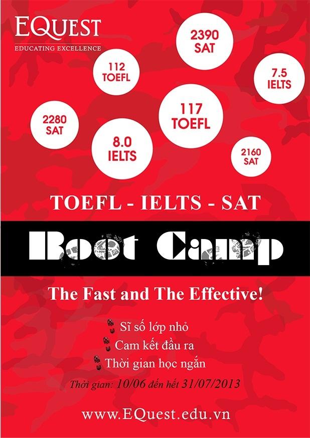 EQuest Boot Camp ra đời với 3 tiêu chí hoàn toàn đặc biệt: