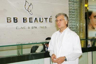 TS.BS Vincenzo Mancini hiện đang làm việc tại Thẩm mỹ viện BB Beauté