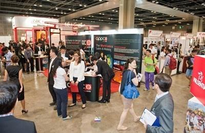 Một sự kiện nghề nghiệp và giáo dục tại Singapore
