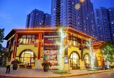 Tổng thể nhà hàng LÃ VỌNG