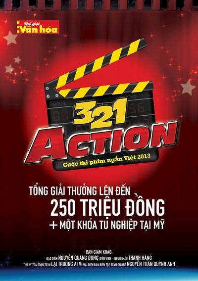 Thanh Hằng làm giám khảo cuộc thi phim ngắn 3,2,1 Action