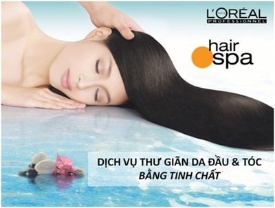 Nước - nguyên liệu tuyệt vời cho một da đầu khỏe