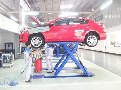 Xưởng dịch vụ của Mazda.
