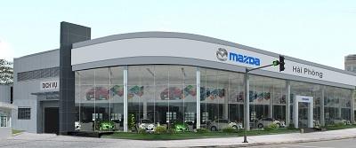 Showroom Mazda Hải Phòng.