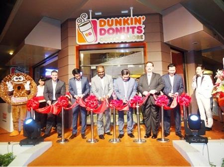 Dunkin' Donuts tưng bừng khai trương tại TP. HCM