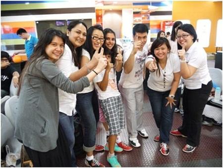 Sinh viên MISTC hoạt động ngoại khóa