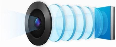 Máy tích hợp công nghệ camera HD lens 13Mpx với nhiều tính năng hiện đại, độ nét cao