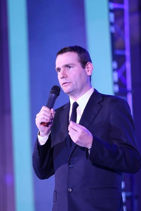 Ông Alex Ricard, Phó Tổng Giám đốc Tập đoàn Pernod Ricard phát biểu tại Lễ trao giải