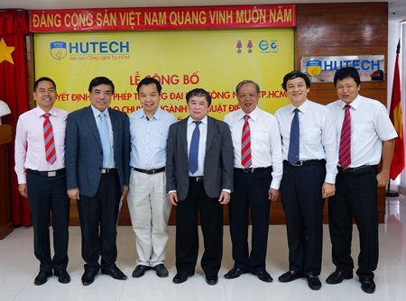 Đại học Công nghệ TPHCM - HUTECH chính thức đào tạo trình độ Tiến sĩ