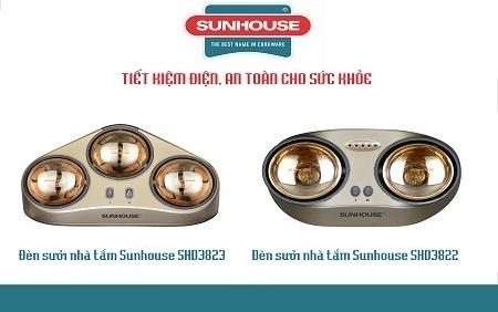 Bóng đèn được bao phủ lớp mạ vàng giúp làm giảm độ chói sáng nhưng không làm giảm hiệu quả làm ấm