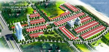 Phối cảng tổng thể dự án Bắc Sơn Trà