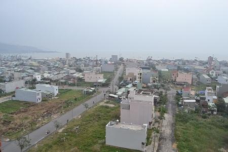 Toàn cảnh Khu dân cư Bắc Sơn Trà nối ra biển (Ảnh chụp thực tế)
