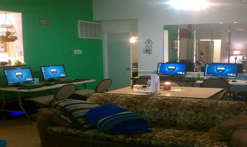 Một Gaming house ở nước ngoài (Nguồn: Internet)