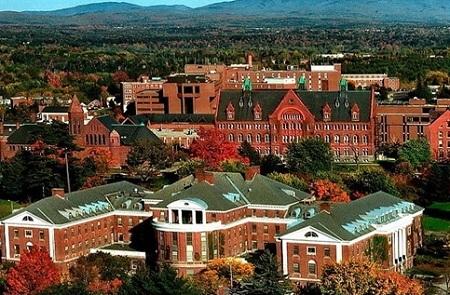 Khuôn viên trường đại học Vermont