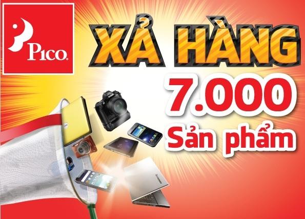 """Xả hàng - Hệ thống siêu thị điện máy Pico bán hàng với mức giá """"tặng không"""""""