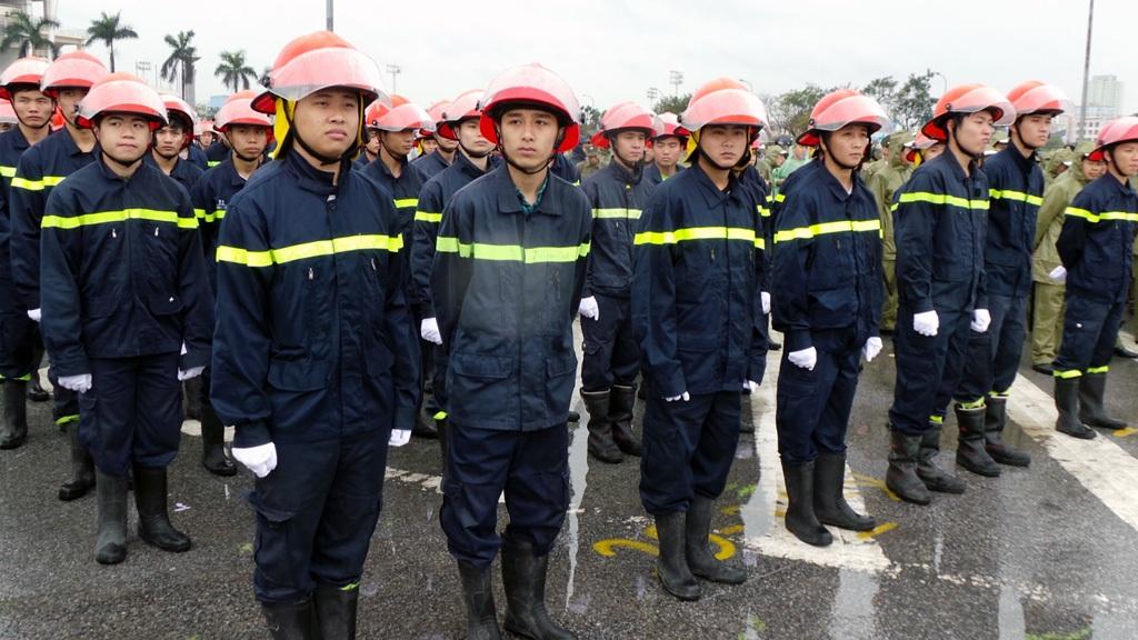 Lực lượng Cảnh sát phòng cháy, chữa cháy.