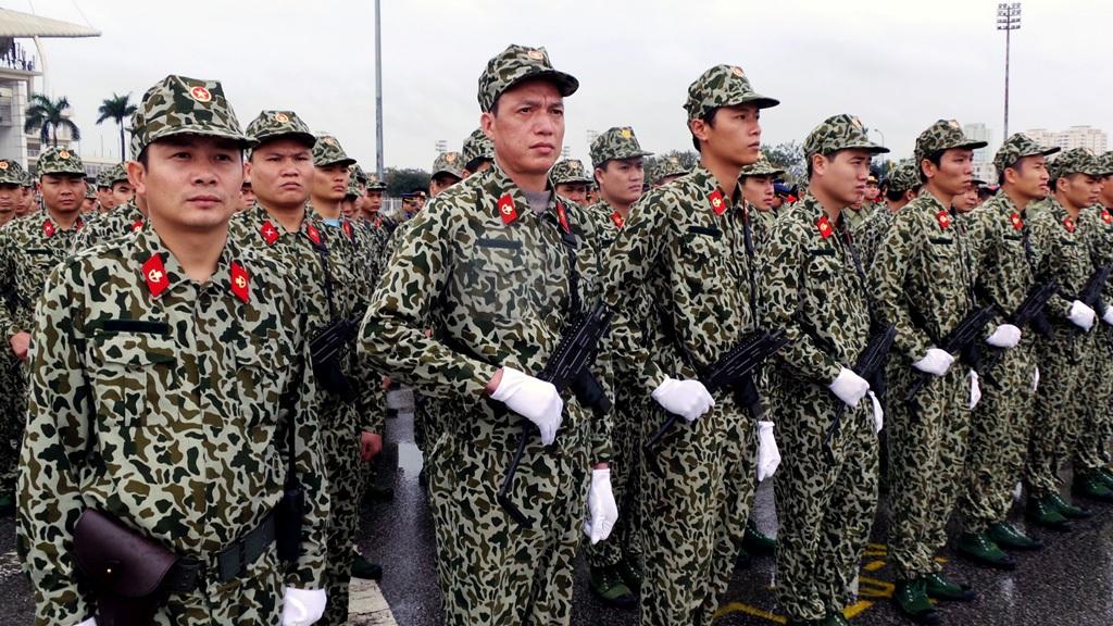 Lực lượng đặc công.