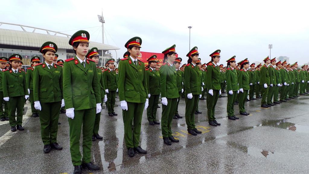 Lực lượng Công an nhân dân.