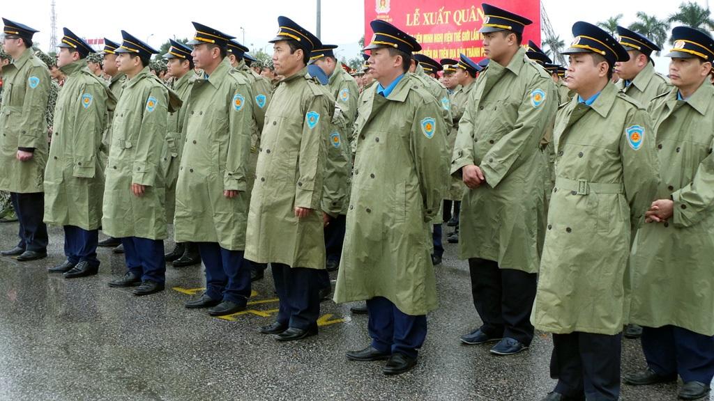 Lực lượng Thanh tra giao thông.