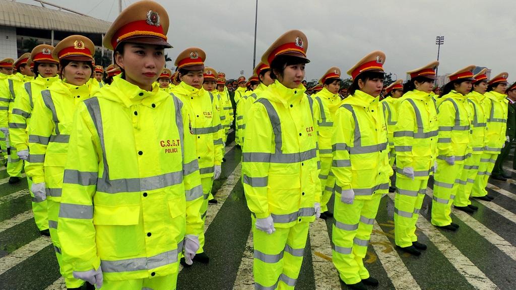 Lực lượng Cảnh sát giao thông.