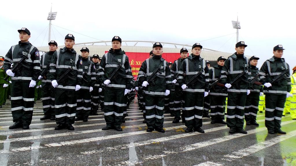 Lực lượng Cảnh sát cơ động.