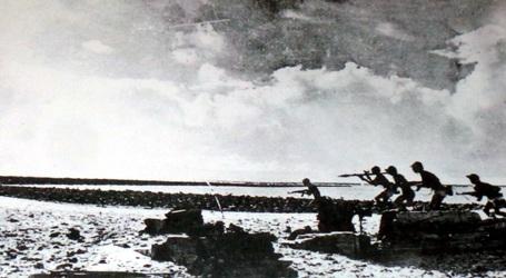 Lực lượng đặc công tiến công giải phóng đảo tháng 4/1975.