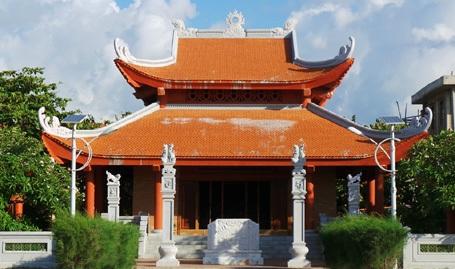 Nhà tưởng niệm Bác Hồ.