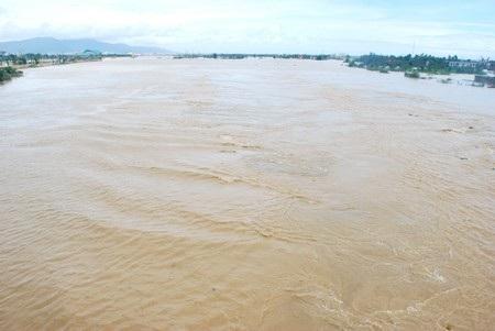 Theo dự báo, trên các sông ở miền Trung sẽ có lũ lớn