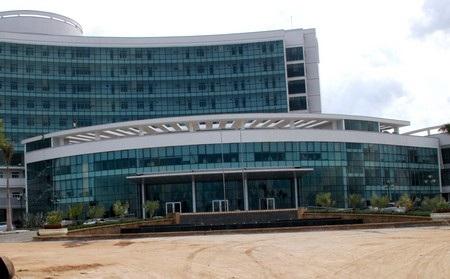 Công trình Bệnh viện Ung thư Đà Nẵng, nơi xảy ra sự cố