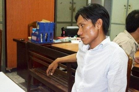 Nguyễn Văn Mỹ bị bắt giữ tại công an quận Sơn Trà
