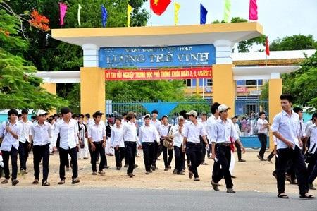 Quảng Nam có 16 trường đỗ tốt nghiệp 100%