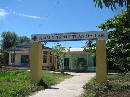Sai phạm tại trạm y tế thị trấn Hà Lam, huyện Thăng Bình đã được xử lý