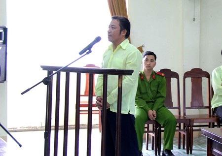 Bị cáo Huỳnh Đức Lâm tại phiên tòa ngày 12/1