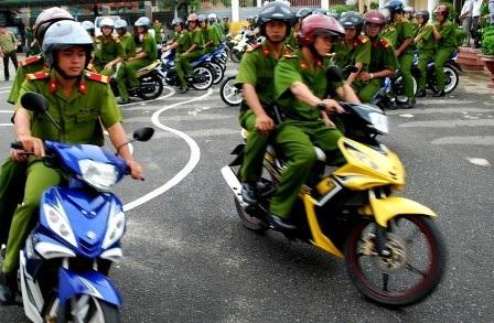 Lực lượng phòng chống cướp giật sẵn sàng xuất quân làm nhiệm vụ