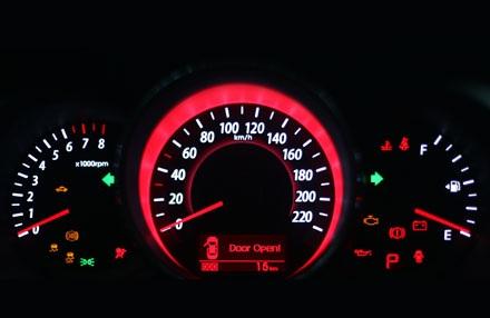 Bố trí đồng hồ chính của xe KIA Forte 2013 tại Việt Nam