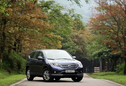 Honda CR-V 2013 - Thay đổi thể thích ứng