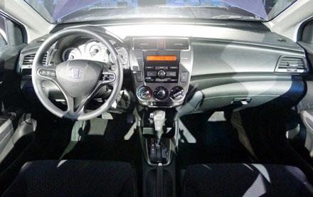 Bảng đồng hồ tiêu chuẩn của xe Honda City