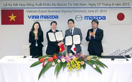 VinaMazda – thương hiệu lắp ráp và phân phối xe du lịch Mazda tại Việt Nam đã có sự đồng thuận của