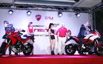 Ducati chính thức giới thiệu xe Multistrada 1.200S tại Việt Nam