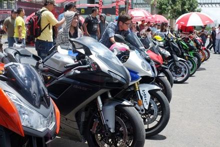 Khai mạc ngày hội mô-tô đầu tiên tại Việt Nam