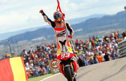 Bảng xếp hạng chặng MotorLand Aragon