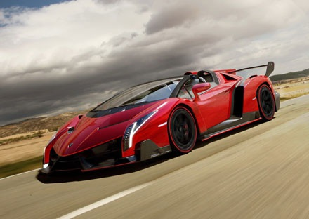 Sẽ có Lamborghini Veneno mui trần