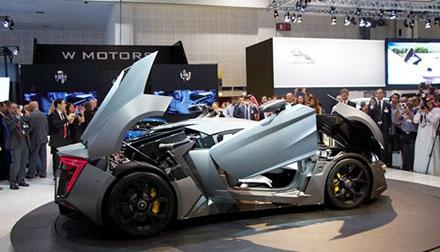 Siêu xe Ả rập giá 3.4 triệu đô.
