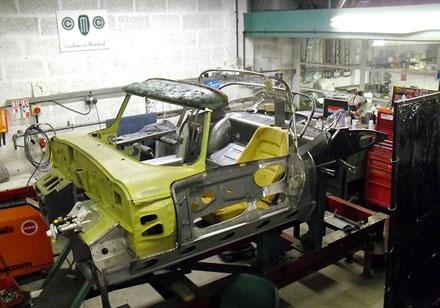 Làm thịt Jaguar E-Type 1968