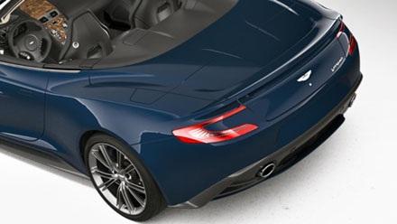 Aston Martin chỉ sản xuất 10 chiếc Vanquish Volante Neiman Marcus Edition
